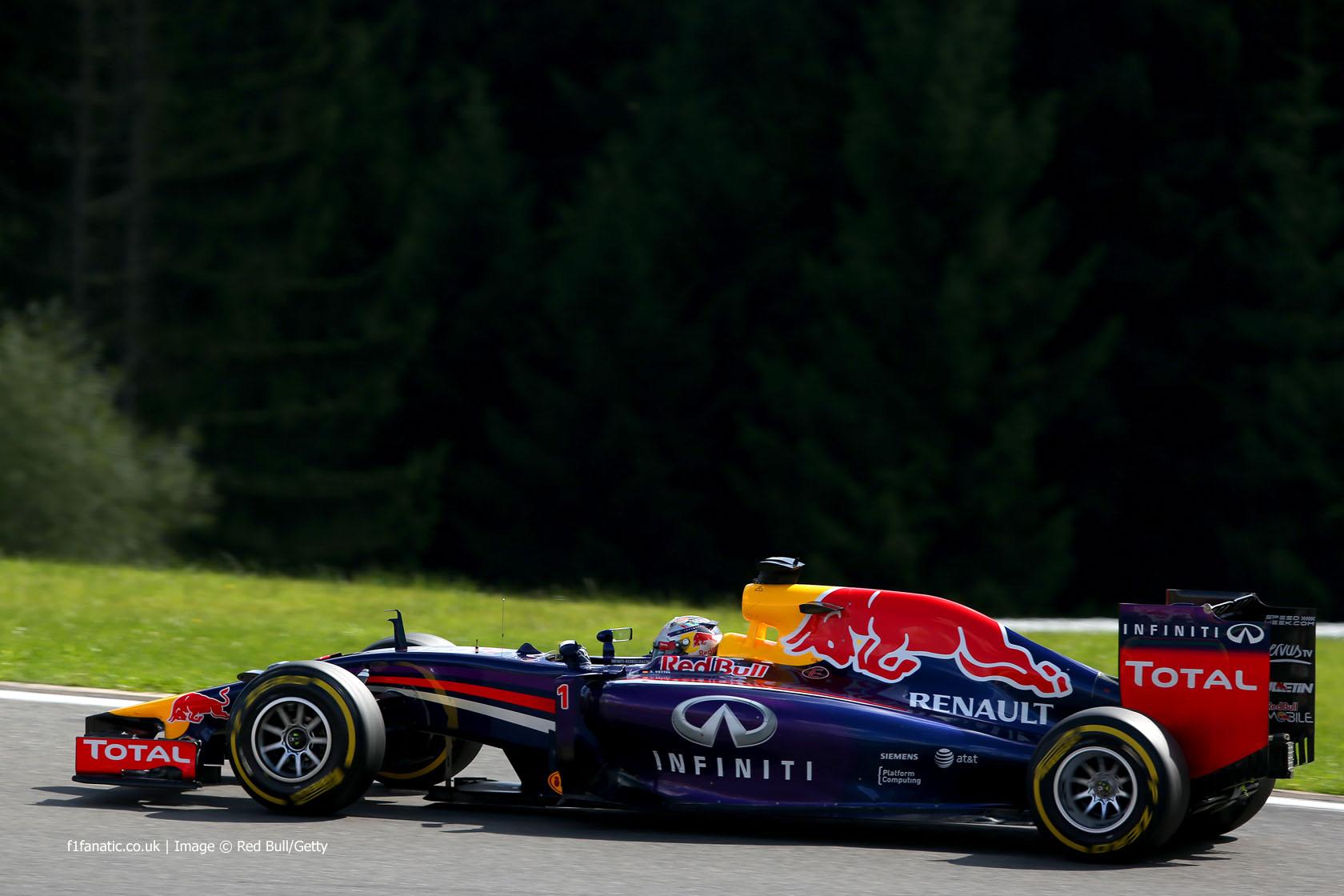 Sebastian Vettel, Red Bull, Spa-Francorchamps, 2014