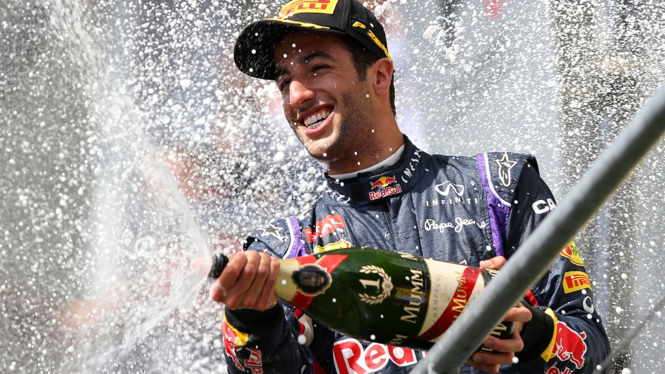 Third win, second Driver of the Weekend for Ricciardo