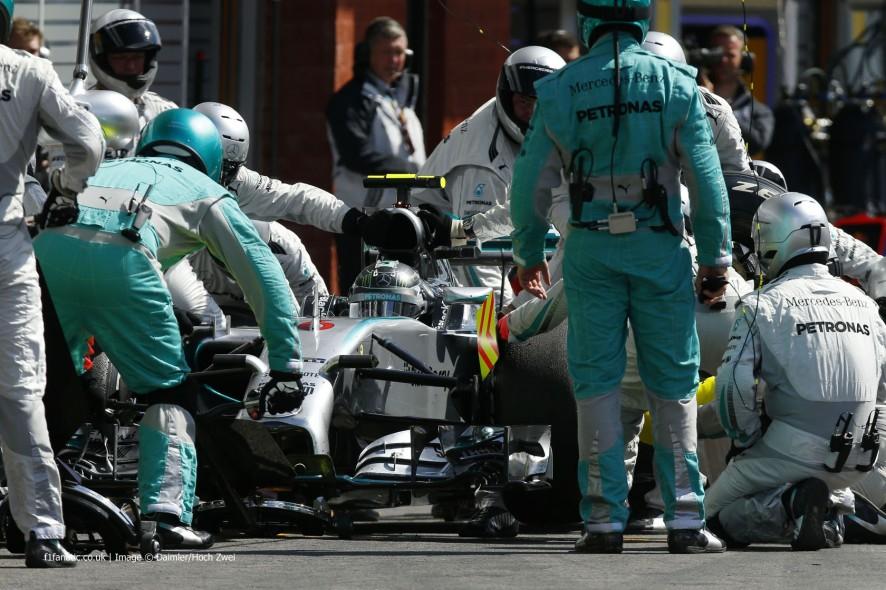 Nico Rosberg, Mercedes, Spa-Francorchamps, 2014