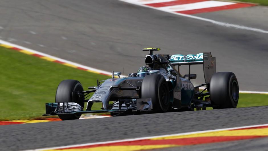 Rosberg sets fastest 'fastest lap' since 1996