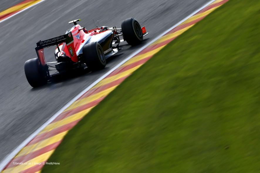 Alexander Rossi, Marussia, Spa-Francorchamps, 2014