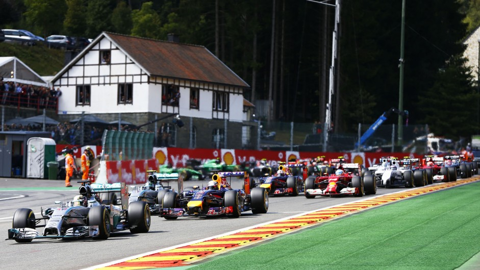 Vote for your 2014 Belgian GP Driver of the Weekend