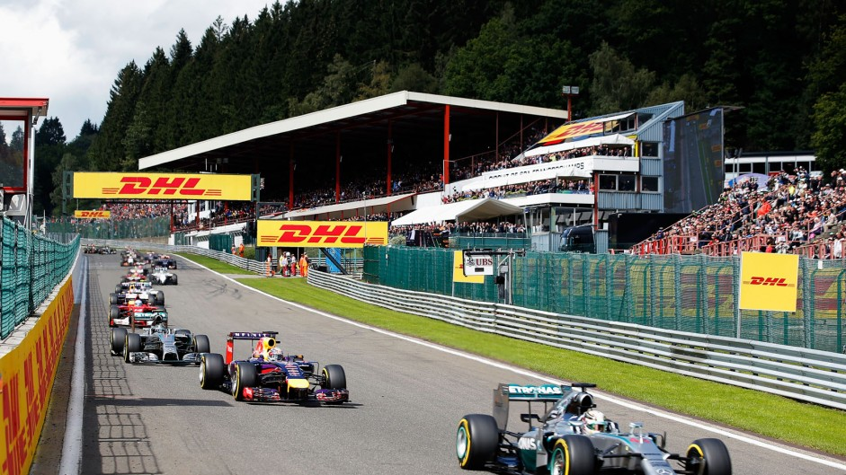 Start, Spa-Francorchamps, 2014