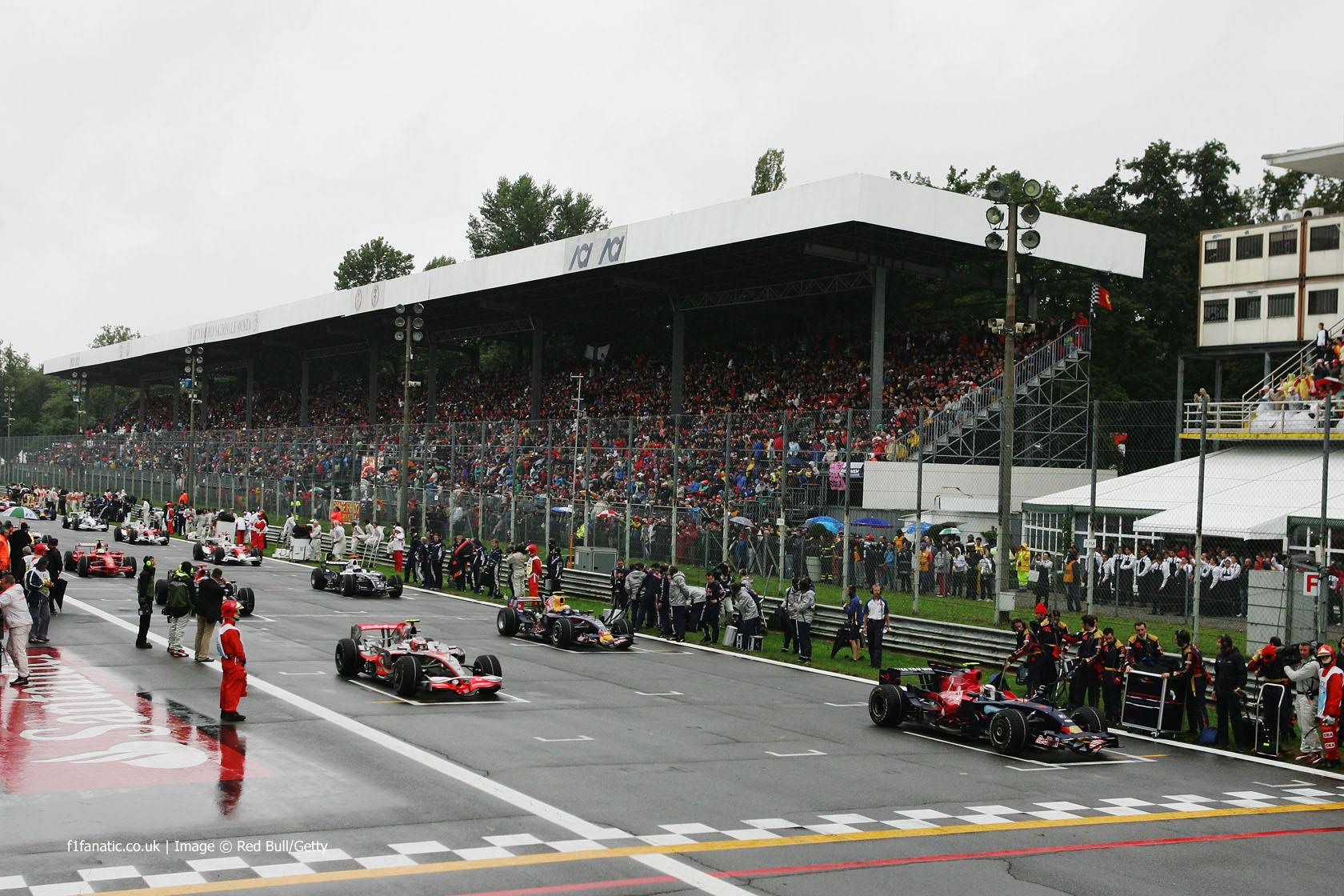 Grid, Monza, 2008