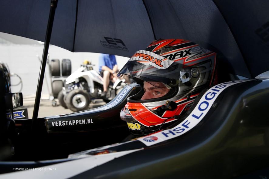 Max Verstappen, F3, Van Amersfoort, Red Bull Ring, 2014
