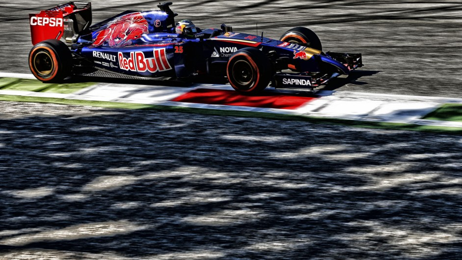 Top ten pictures from the 2014 Italian Grand Prix