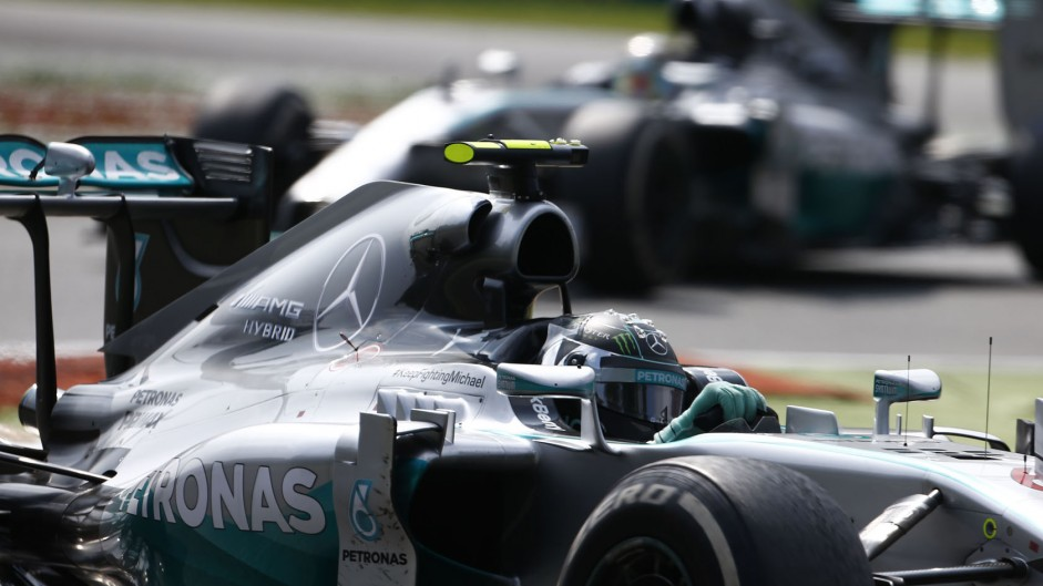 Mercedes can clinch team's title in Japan