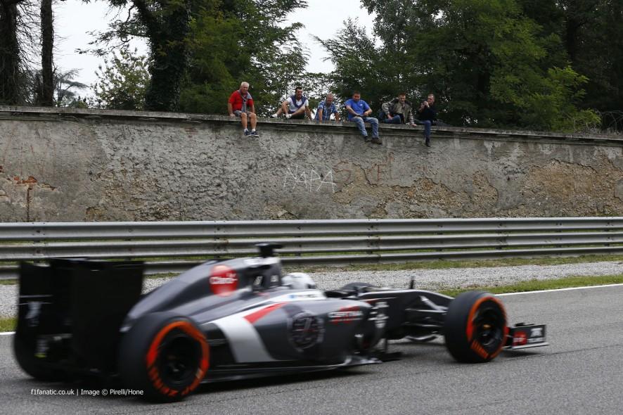 Giedo van der Garde, Sauber, Monza, 2014