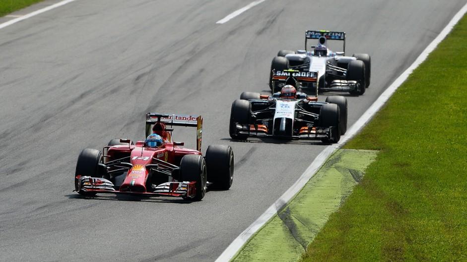 Fernando Alonso, Ferrari, Monza, 2014