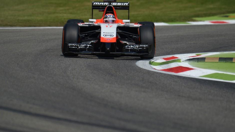 Jules Bianchi, Marussia, Monza, 2014
