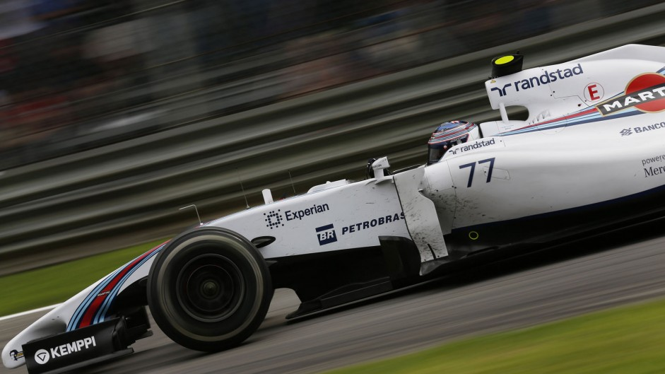 Hamilton quickest but Mercedes are wary of Williams
