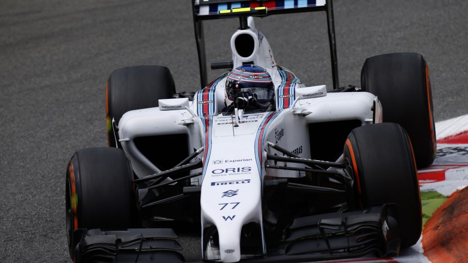 Valtteri Bottas, Williams, Monza, 2014