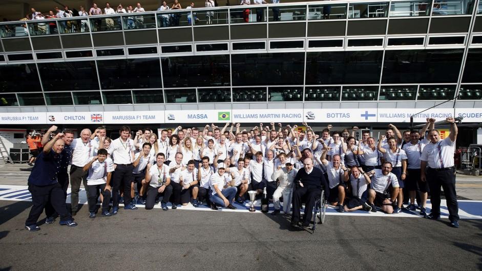 Valtteri Bottas, Felipe Massa, Williams, Monza, 2014