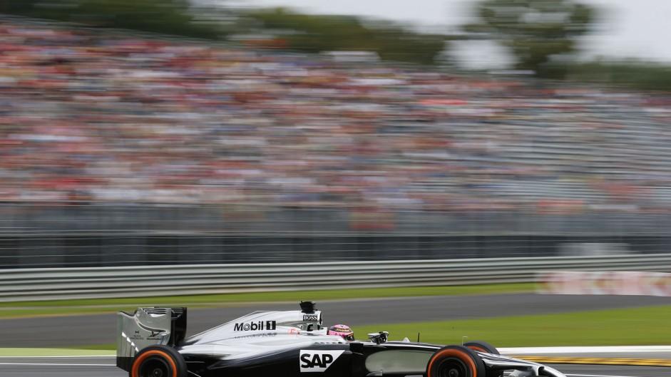 Jenson Button, McLaren, Monza, 2014