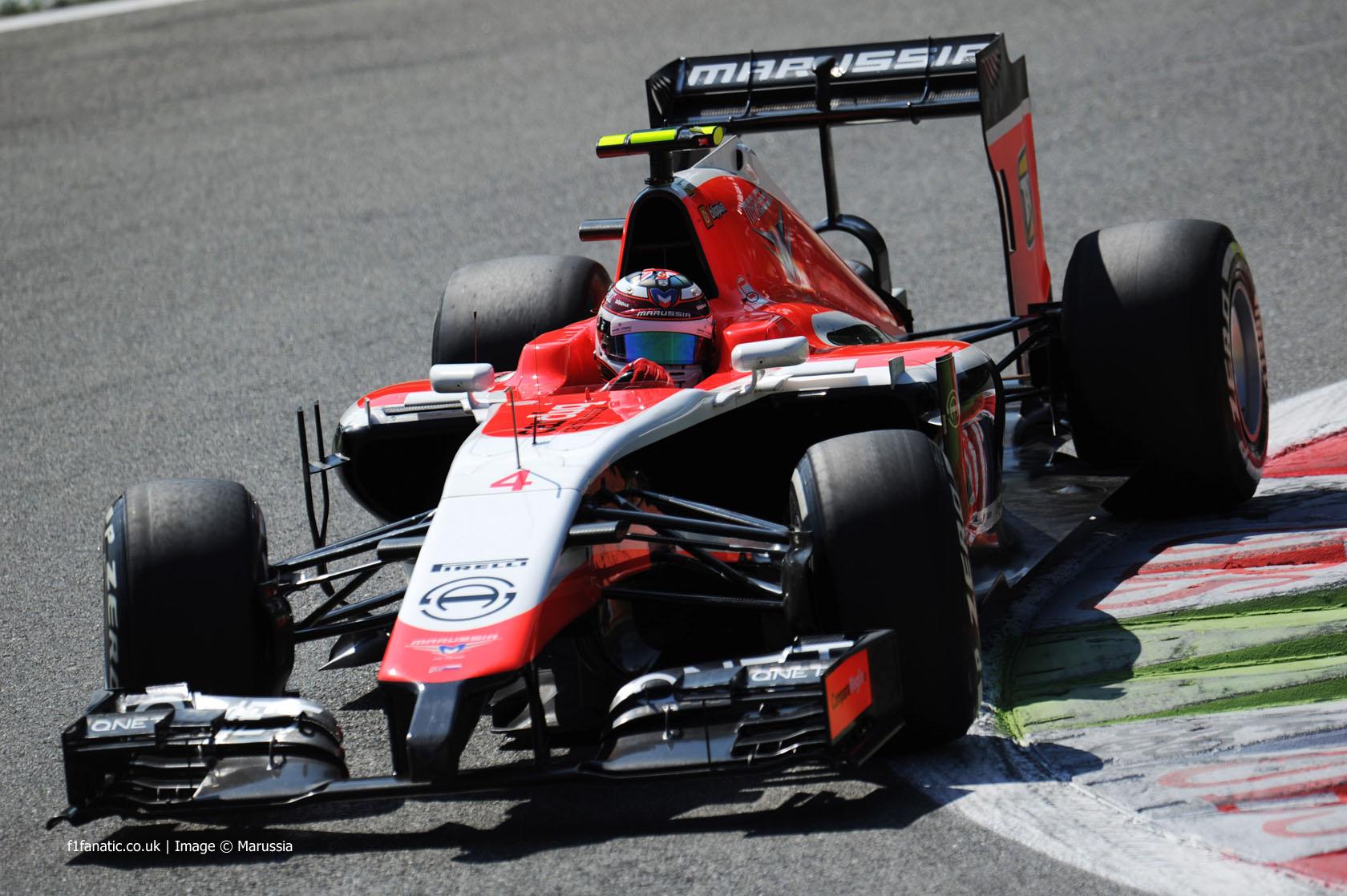 Max Chilton, Marussia, Monza, 2014