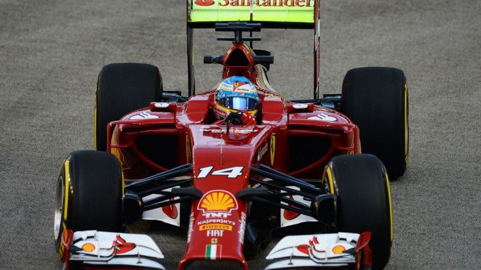 Alonso leads Mercedes pair in first practice