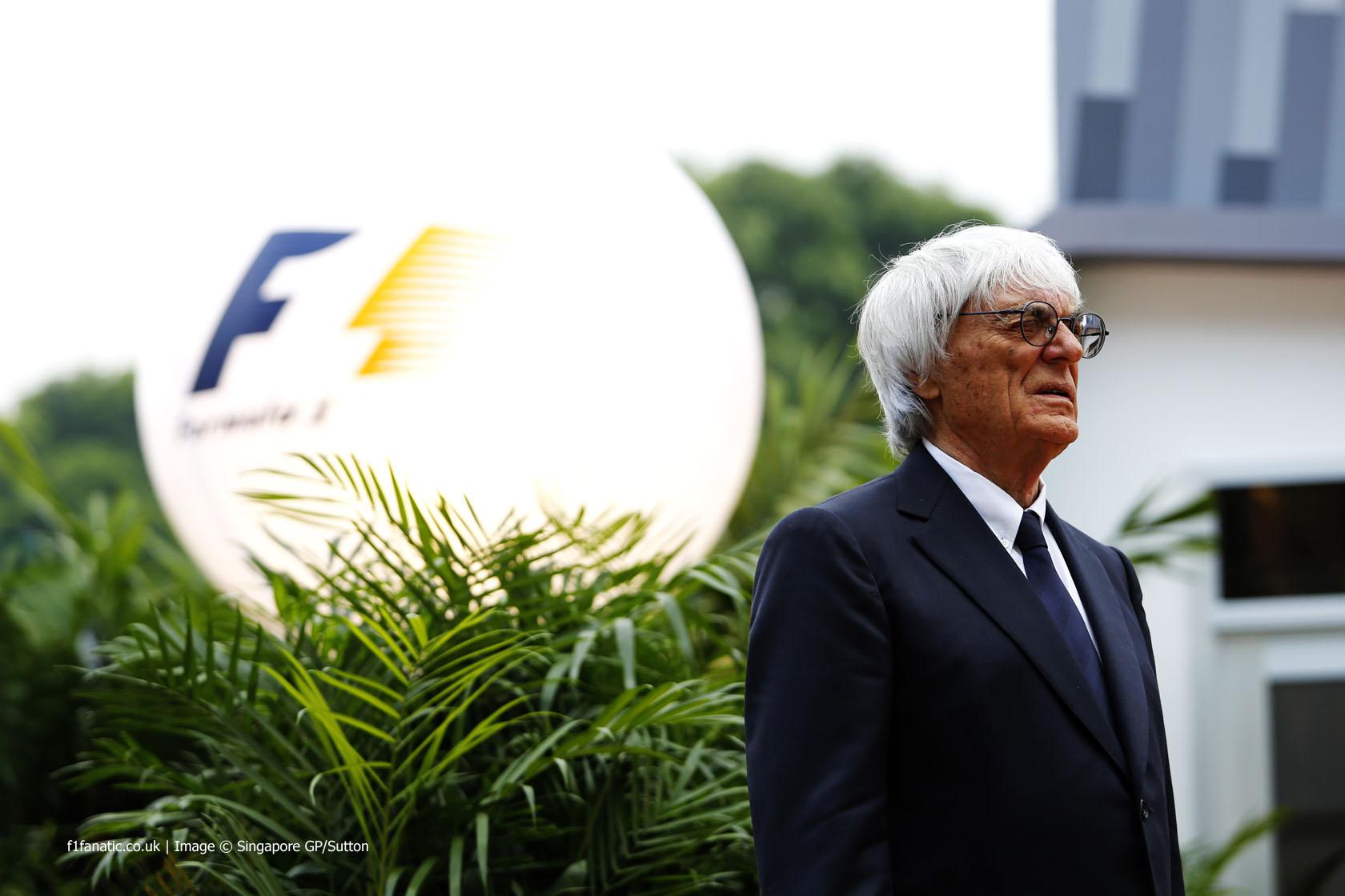 Bernie Ecclestone, Singapore, 2014
