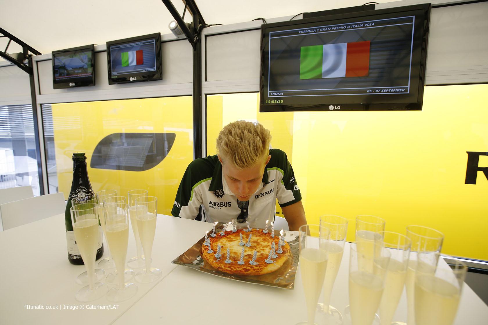 Marcus Ericsson, Caterham, Monza, 2014