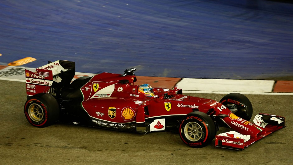 Alonso wasn't expecting Ferrari to be so quick