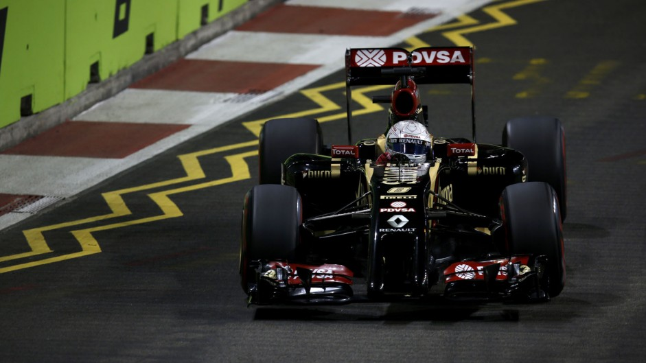 Frustrating year led to Singapore outburst – Grosjean