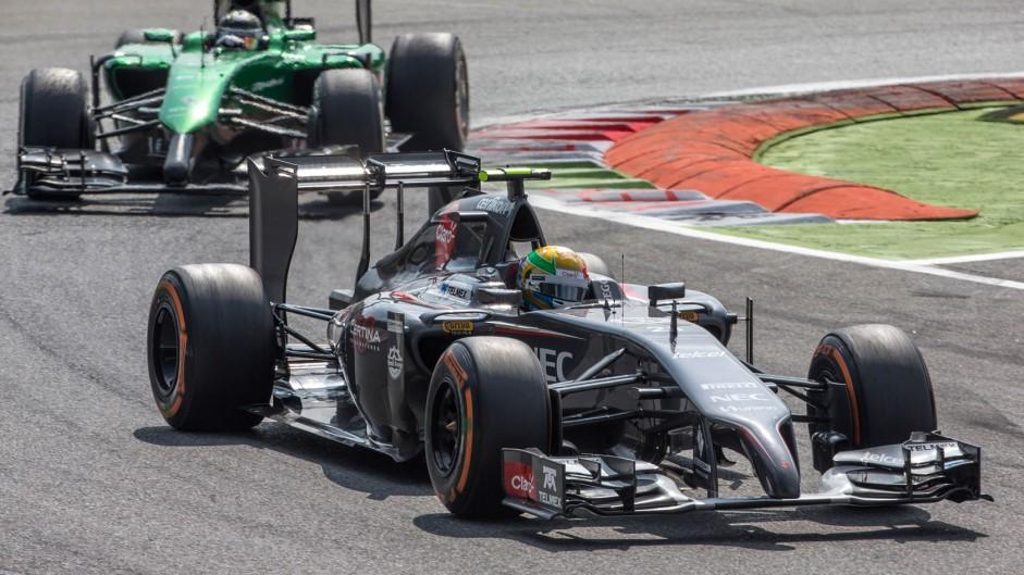 Esteban Gutierrez, Sauber, Monza, 2014