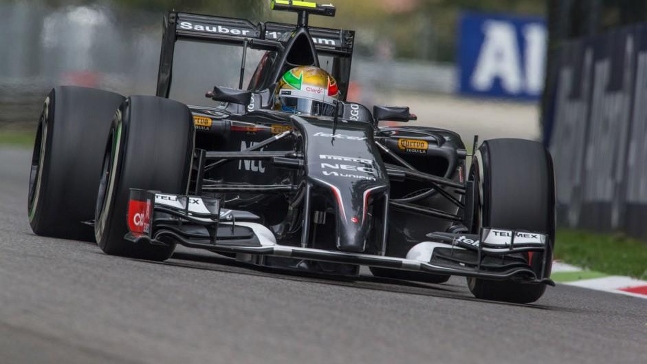 Gutierrez penalised for collision with Grosjean