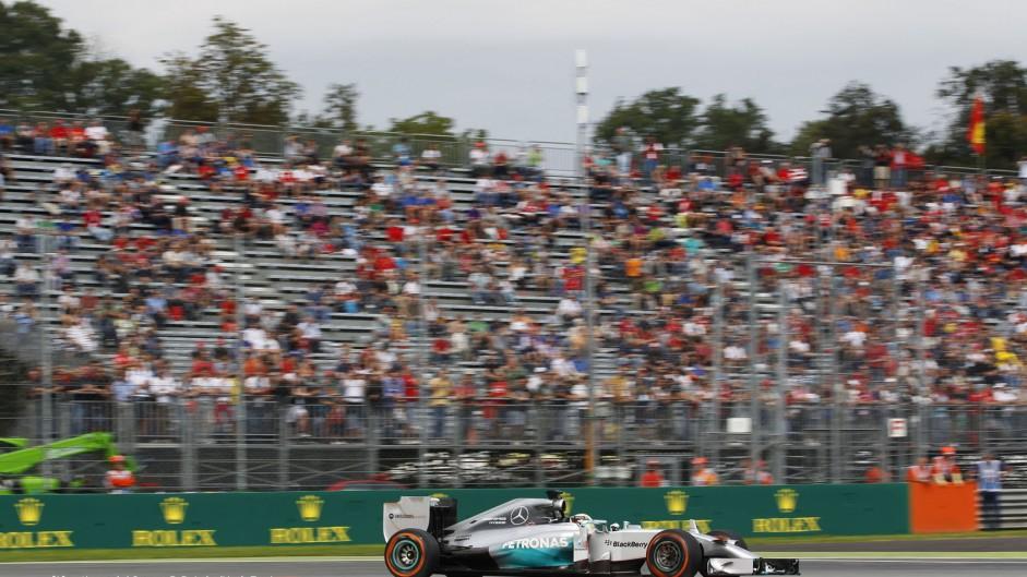 2014 Italian Grand Prix grid