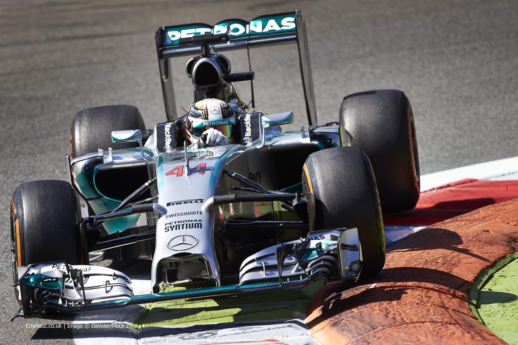 Lewis Hamilton, Mercedes, Monza, 2014