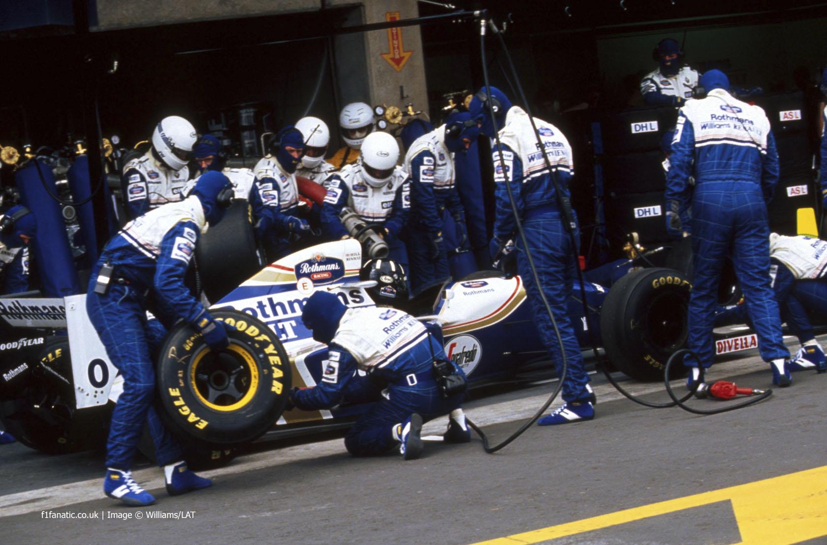 Damon Hill, Williams, Estoril, 1994