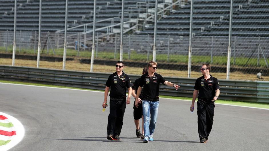 Nico Hulkenberg, Force India, Monza, 2014