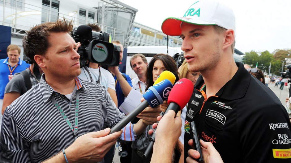 Nico Hulkenberg, Force India, Monza, 2014