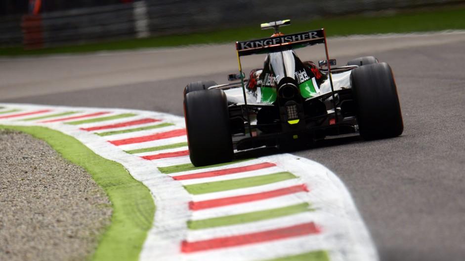 Daniel Juncadella, Force India, Monza, 2014