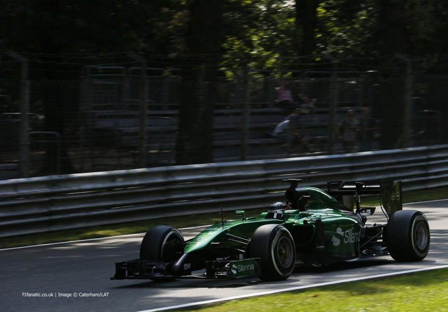 Kamui Kobayashi, Caterham, Monza, 2014