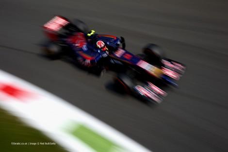 Daniil Kvyat, Toro Rosso, Monza, 2014