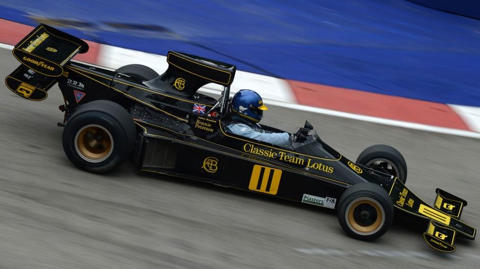 Andrew Beaumont, Lotus 76, Singapore, 2014