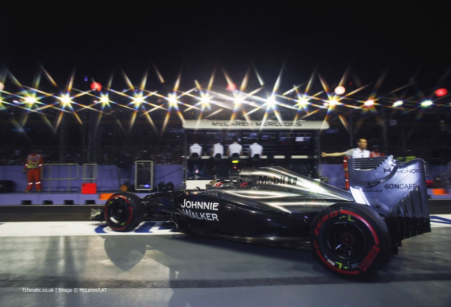 Kevin Magnussen, McLaren, Singapore, 2014
