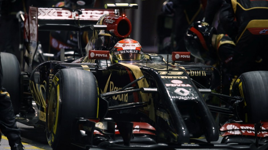 Maldonado set for ten-place grid penalty