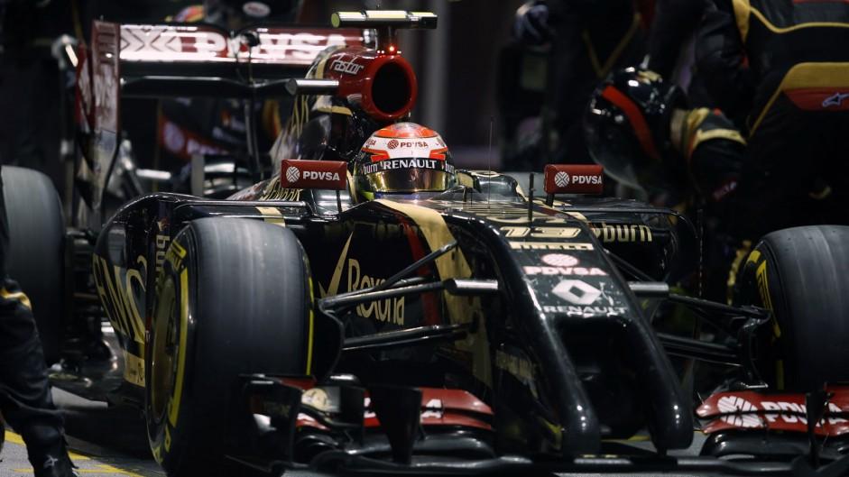 Maldonado set for ten-place grid penalty