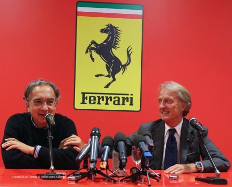 Sergio Marchionne, Luca di Montezemolo, Ferrari, 2014