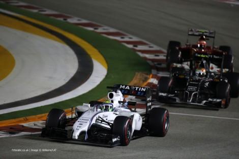 Felipe Massa, Williams, Singapore, 2014