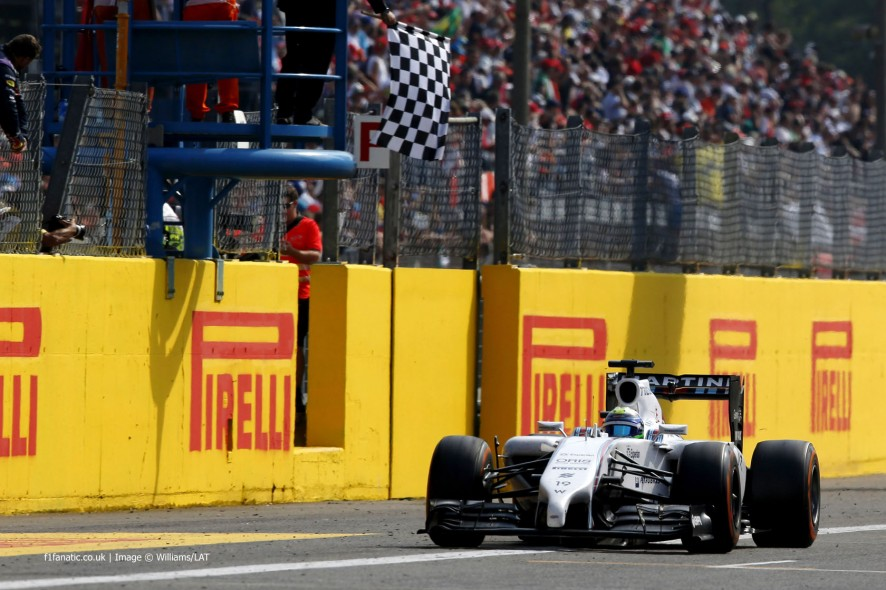 Felipe Massa, Williams, Monza, 2014