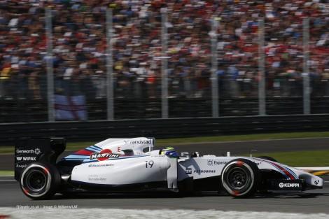 Felipe Massa, Williams, Monza, 2014