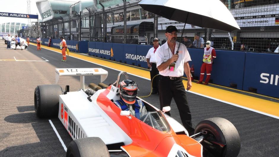 Sean Allen, McLaren M30, Singapore, 2014