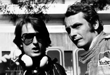 Luca di Montezemolo, Niki Lauda, Ferrari, Monaco, 1975