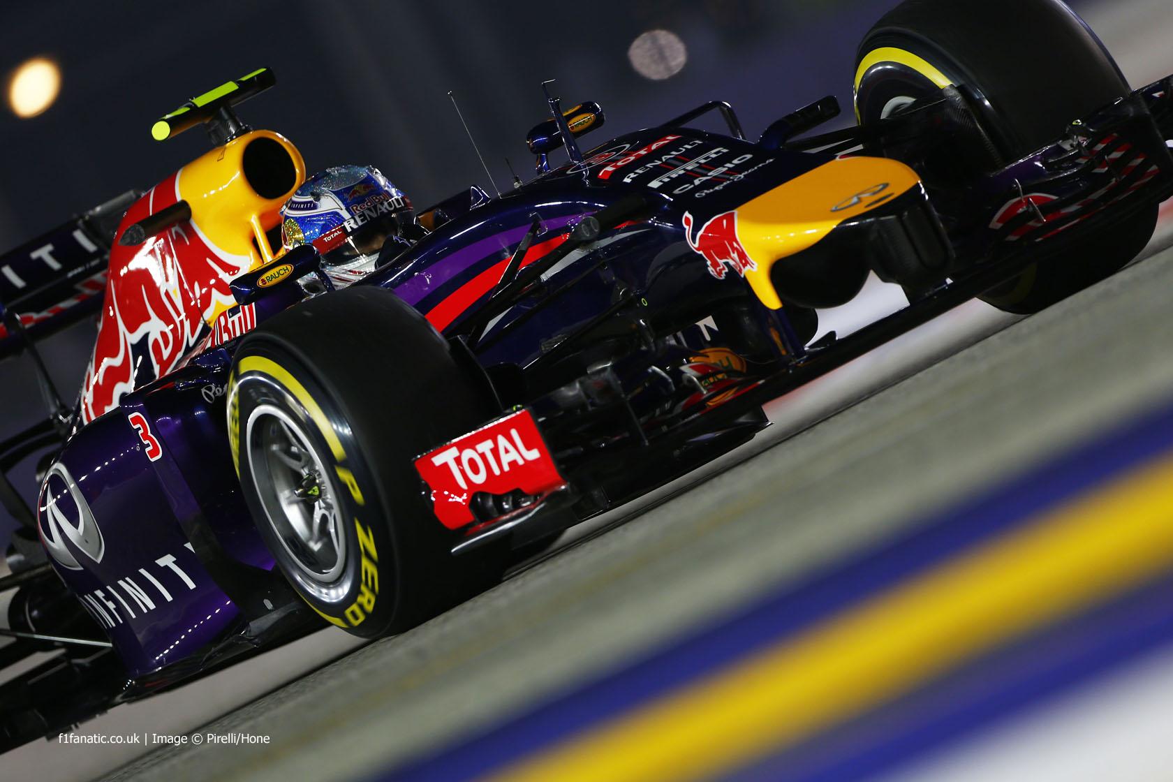 Daniel Ricciardo, Red Bull, Singapore, 2014