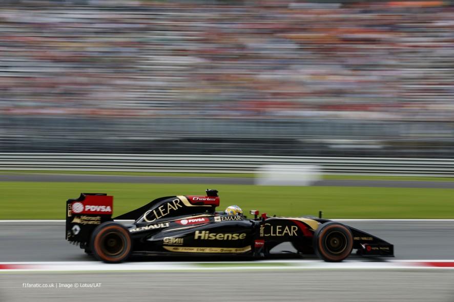 Charles Pic, Lotus, Monza, 2014