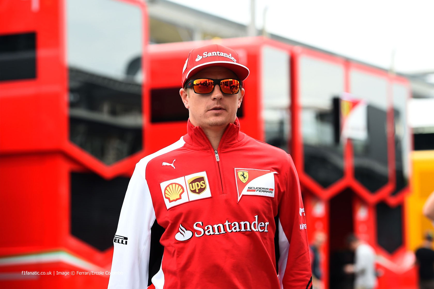 Kimi Raikkonen, Ferrari, Monza, 2014