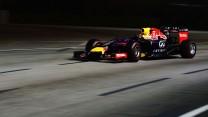 Sebastian Vettel, Red Bull, Singapore, 2014