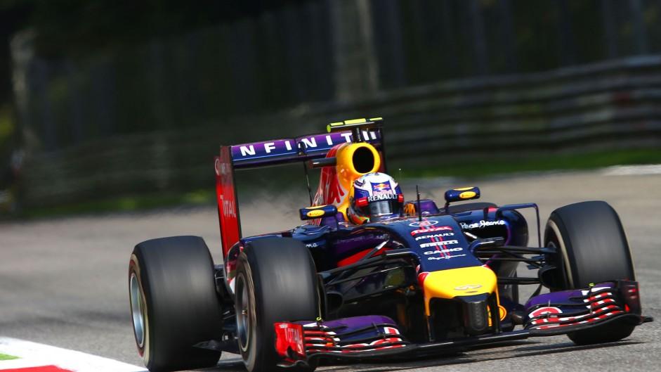 Daniel Ricciardo, Red Bull, Monza, 2014