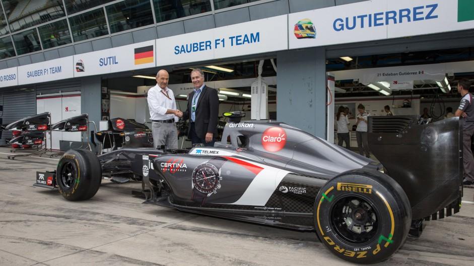 Sauber, Monza, 2014